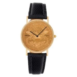 Corum $20 Coin 380684 18k 35mm Quartz watch
