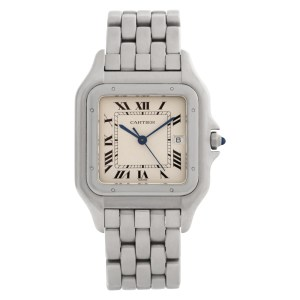 Cartier Panthere W25032P5 stainless steel 30mm Quartz watch