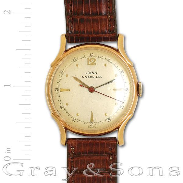 Eska Classic 18k 32mm  watch