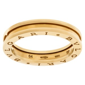 Bvlgari Zero 18K yellow gold ring -
