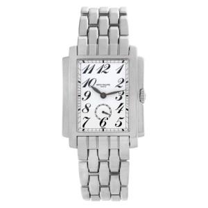 Patek Philippe Gondolo 5024-1 18k White Gold White dial 30mm Manual watch