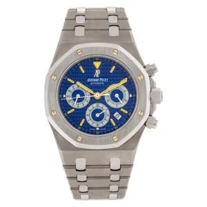 Audemars Piguet City of Sails 25860.IS.O.1110IS.01 titanium 40mm auto watch