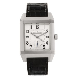 Jaeger LeCoultre Reverso 230.8.77 stainless steel 35mm auto watch