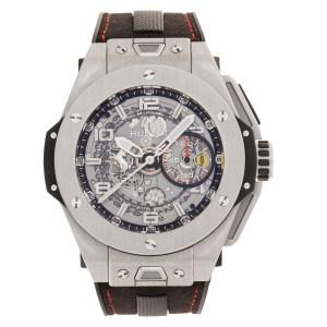Hublot Big Bang Ferrari 402.nx.0123.wr titanium 45mm auto watch