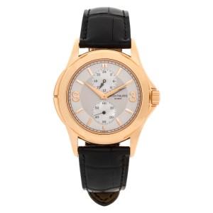 Patek Philippe Travel Time 5134 18k rose gold 37mm Manual watch