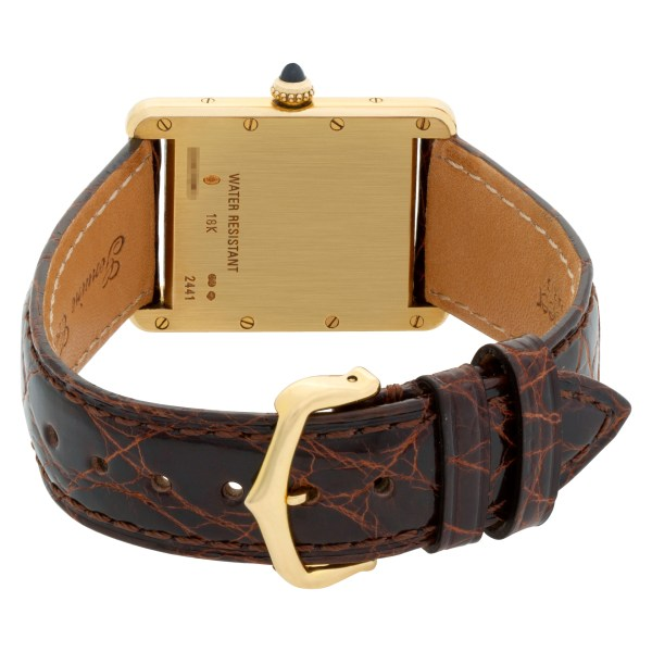 Cartier Tank Louis W1529756 18k 25.5mm Quartz watch