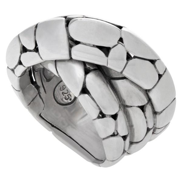 John Hardy Kali Twist ring in sterling silver