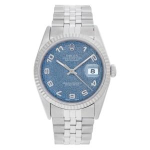 Rolex Datejust 16234 stainless steel mm auto watch