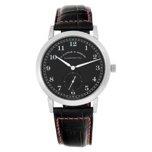A. Lange & Sohne Saxonia 206.029 18k white gold 36mm Manual watch