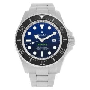 Rolex Deepsea Deep Blue 126660 stainless steel 43mm auto watch