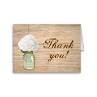 country_rustic_mason_jar_hydrangea_thank_you_card-137104343696356386