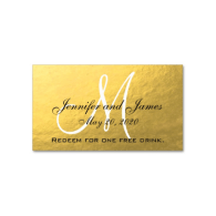 elegant_gold_black_wedding_free_drink_card_business_card-240159959382692696
