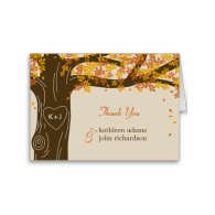 oak_tree_fall_wedding_thank_you_note_cards-137123409987147559