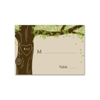 oak_tree_wedding_flat_place_cards_business_card-240949071984917150