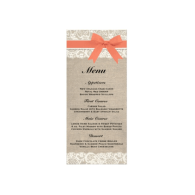 rustic_burlap_lace_coral_wedding_menu_rackcard-245108955834137568