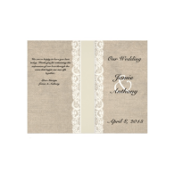 rustic_lace_burlap_ivory_ribbon_wedding_program_flyer-244550059547137920