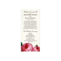 vintage_rose_wedding_program_rack_card-245686060888438581