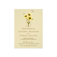 vintage_sunflowers_on_mason_jar_wedding_invitation-161968987341157191