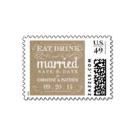 rustic_burlap_save_the_date_wedding_postage-172280980245376461