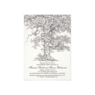 vintage_old_oak_tree_rustic_engagement_party_cards-161815879147080118