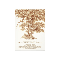 vintage_old_oak_tree_rustic_rehearsal_dinner_invitation-161057616134305159