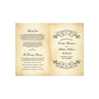 vintage_wedding_programs_elegant_flourish_flyer-244566943962629997