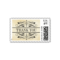 vintage_wedding_thank_you_stamp_elegant_flourish-172412188150880799