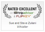 Rated Excellent on TripAdvisor and FlipKey