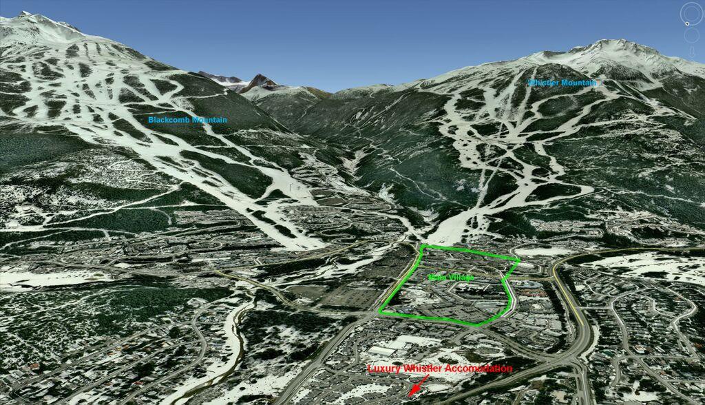 Whistler Montebello 3D Map Winter