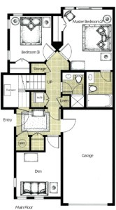Whistler Montebello Floorplans Lower Floor