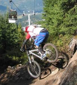 Whistler Mountian biking