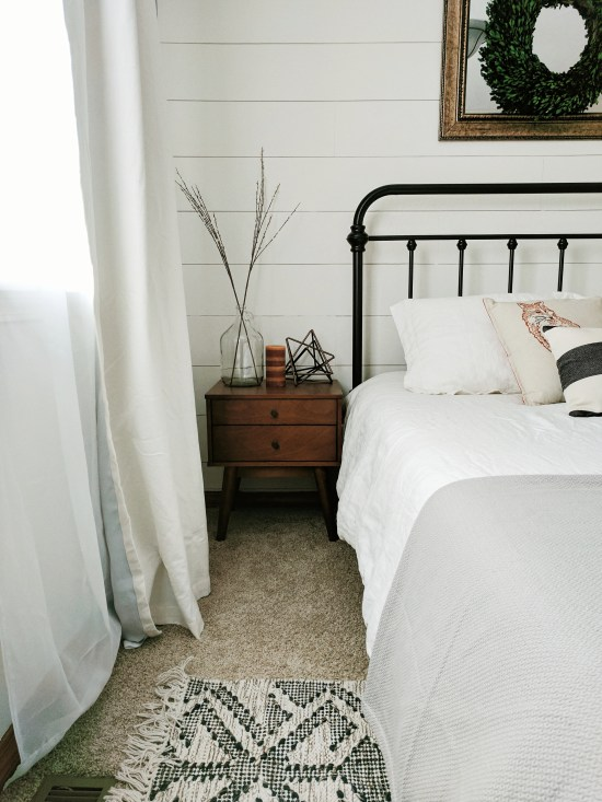 Crisp White Bedroom Decor