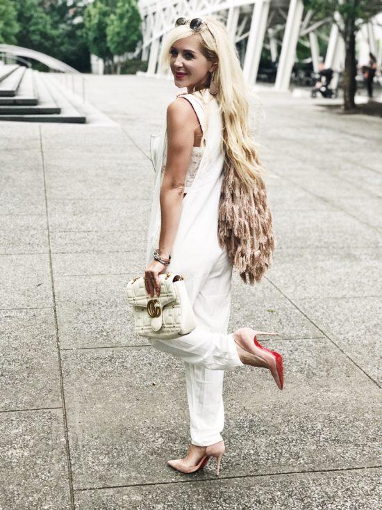 White Jumpsuit Outfit Ideas