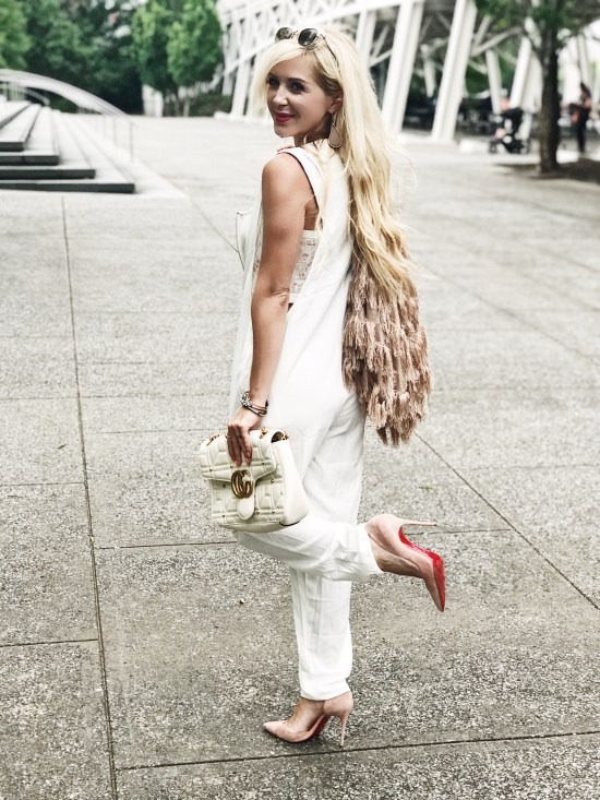 White Jumpsuit Outfit Ideas