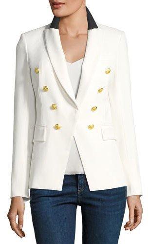 Veronica Beard White Blazer Neiman Marcus