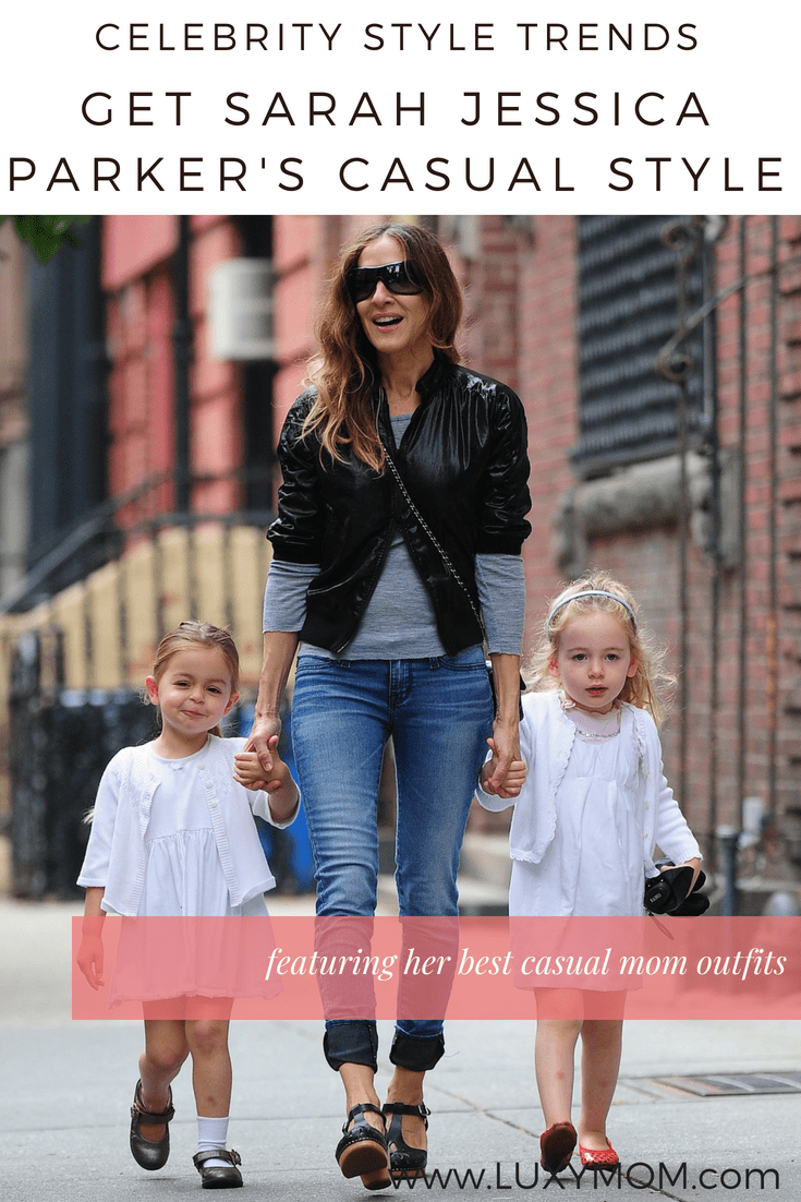 Celebrity Mom Style Trends Sarah Jessica Parkers Casual Styles