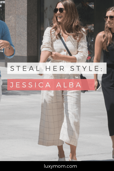 Steal Her Style – Get Jessica Alba's Casual Jacket and Jeans Outfit