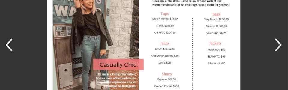 It Girl Style Report April 2019 @oxanajoe Spread