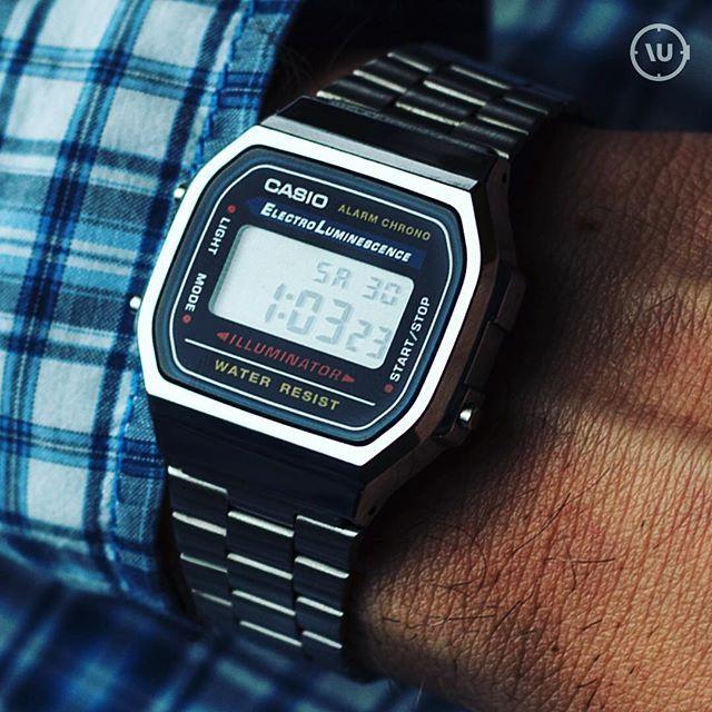 Casio Men's Vintage A168WA-1 in the best watch under 50 dollars picks