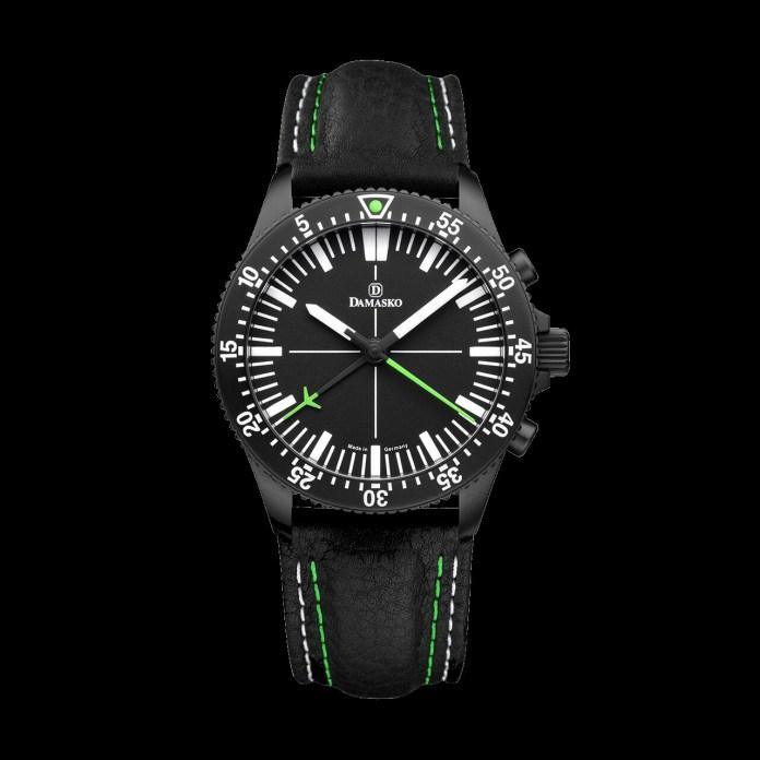 Best Damasko watch – DC 80 green black