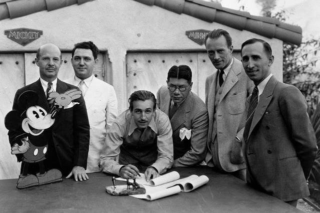 Walt Disney and Herman Kamen collaboration