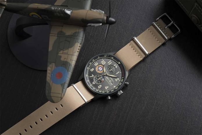 AVI-8 watch manufacturing