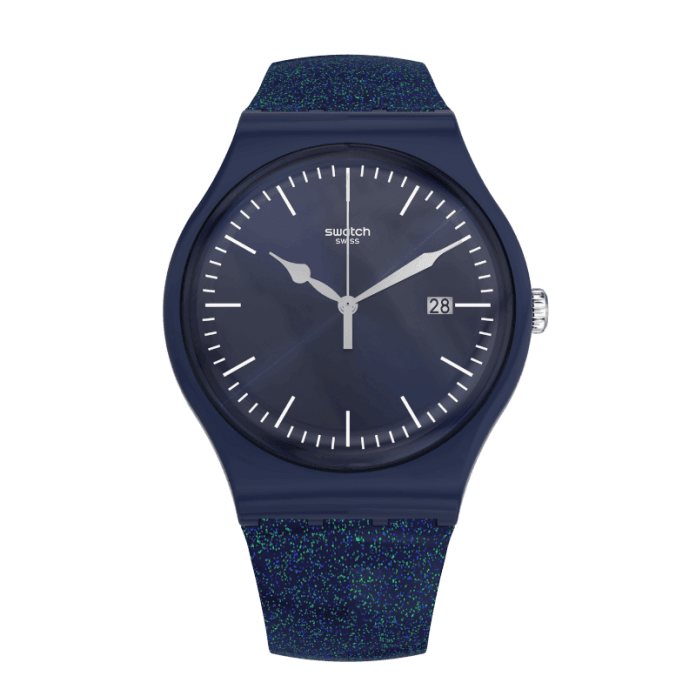 Glitterspace SUON401 Swatch Watches for Men