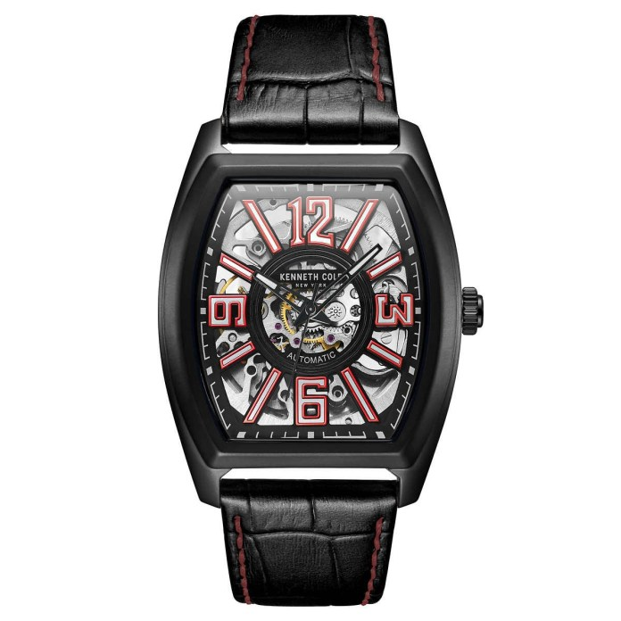 Kenneth Cole New York Automatic Skeleton Watch