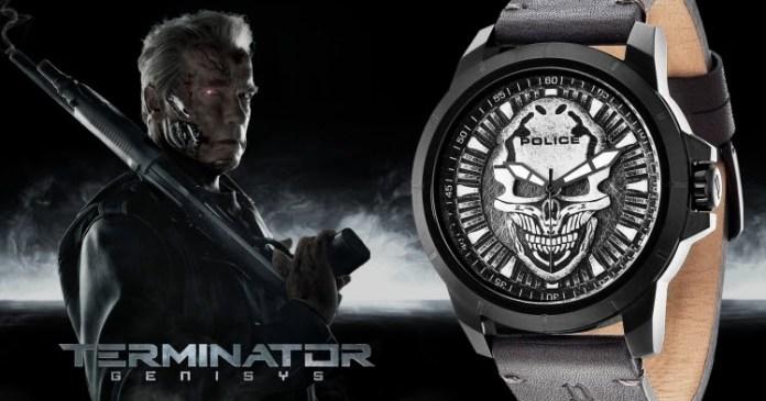 Police Watches Terminator Brand Ambassador