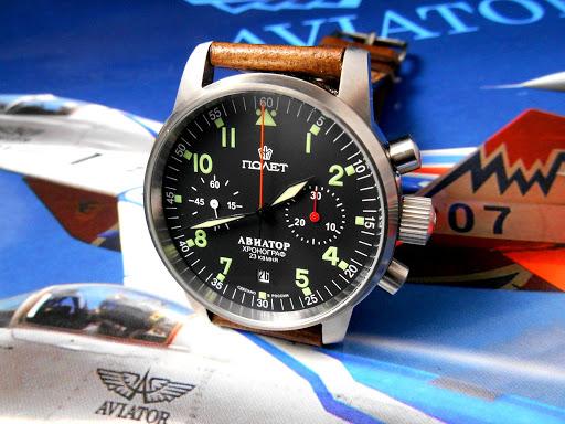 Poljot Aviator Russian watches