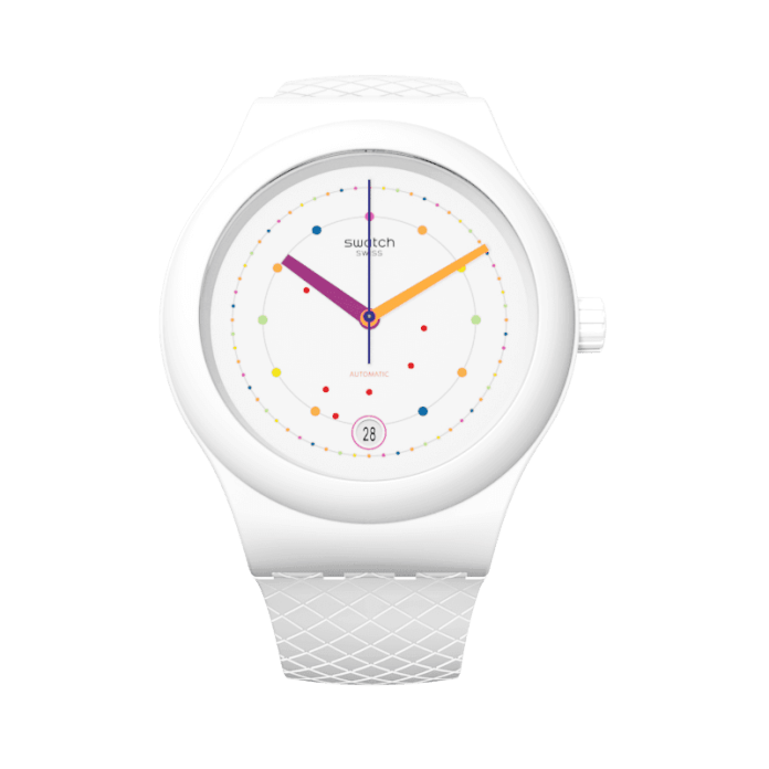 Sistem51 Polka Swatch Watches for Men