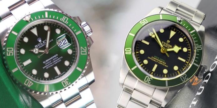 Tudor vs Rolex designs