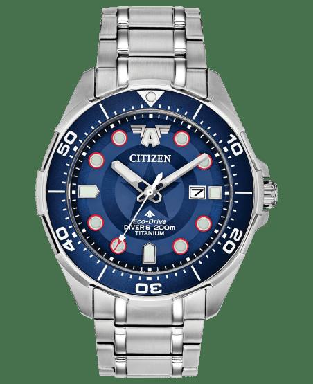 Citizen Promaster Diver Watch Captain America