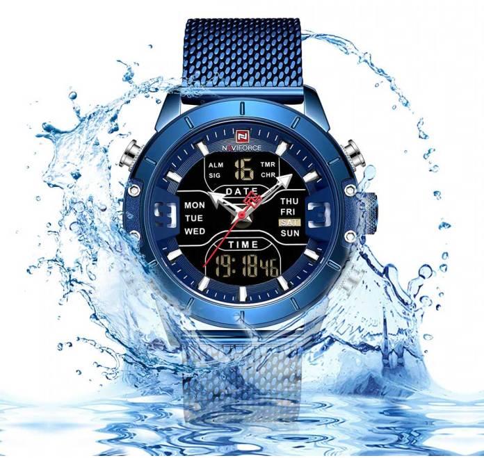 Naviforce Watch Water Resistance
